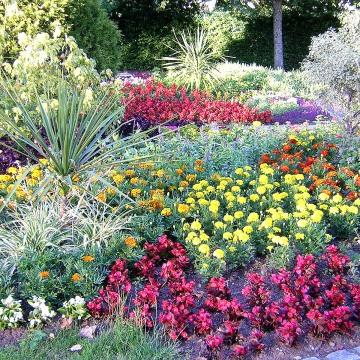 Parc abeilles et petites mains for Jardin anglais vesoul