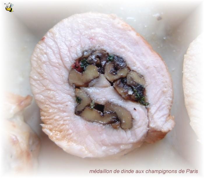 médaillon-dinde-champignons