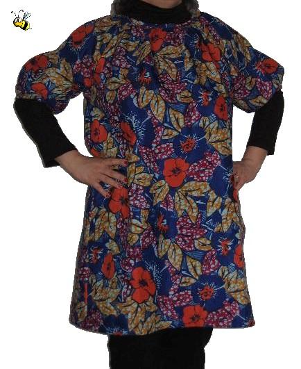robe-encolure-froncée